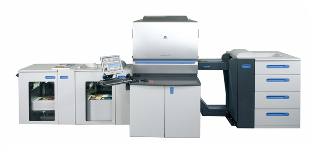 デジタル印刷機HP5500